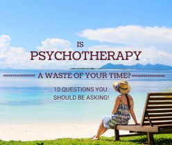 Psychotherapy: Advance Counseling