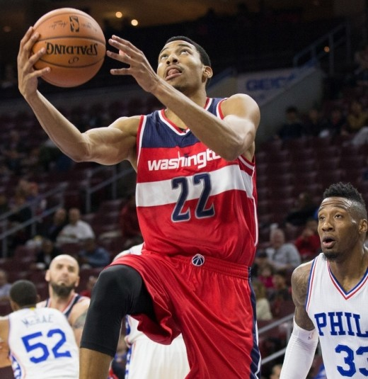 Otto Porter Jr. is developing into a pretty good NBA player too.
