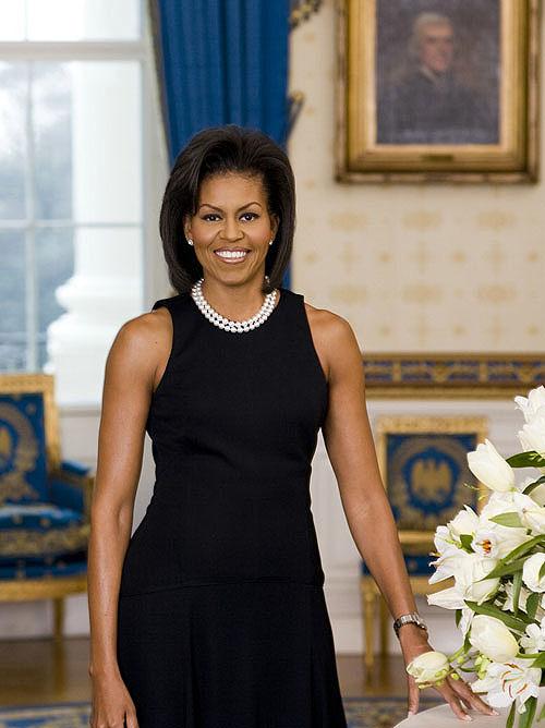 Michelle Obama's White House Portrait