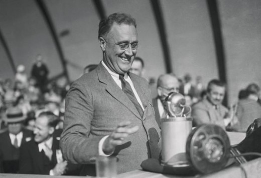 Our first Socialist president, FDR. The republicans instituted presidential term limits because people loved him so much that they didn't want that kind of control over them again.
