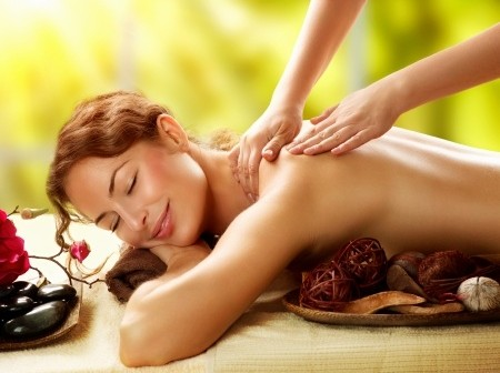 Massage using essential oils in a carrier oil.  You could also do an Abhyanga massage.