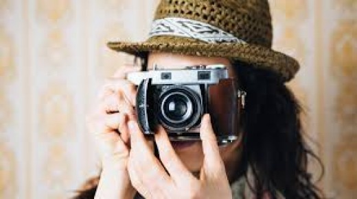 Why do you have such an old camera? Because digital cameras don't capture the essence of life itself.