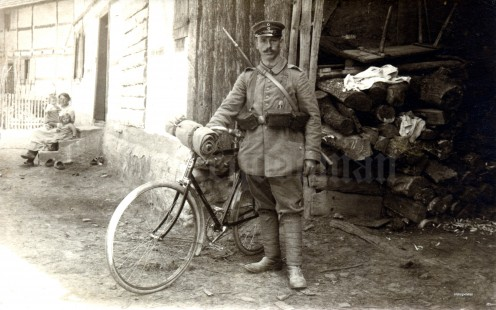 This is NOT a stalker, but a war hero from 1919