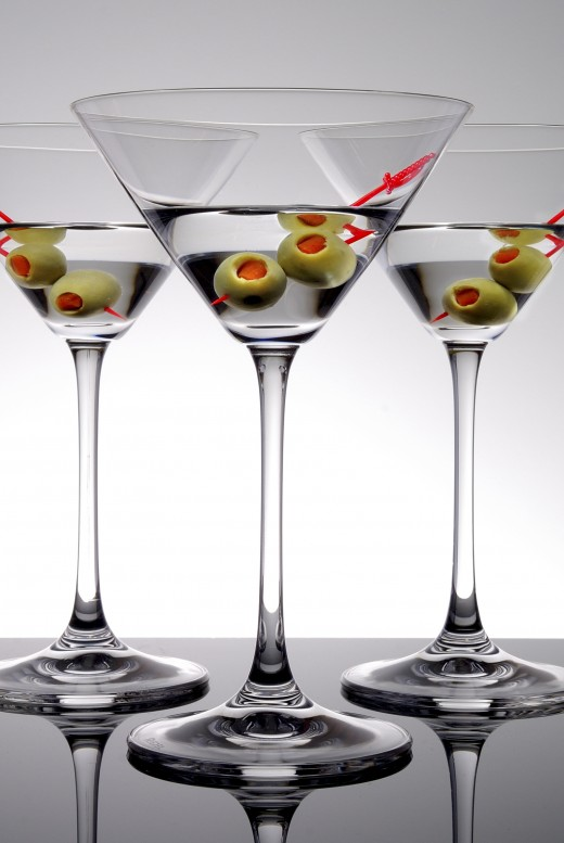 The vintage, classic Martini in all its glory