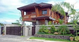 A home for sale in the Philippines costing  around $85,000.