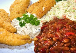 Fish And Side Recipes-Fried, Grilled And Baked