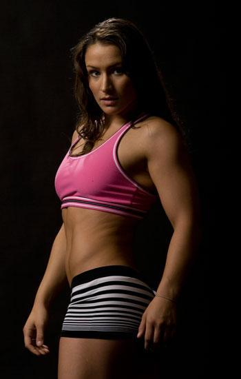 MMA Fighter Ginele Marquez
