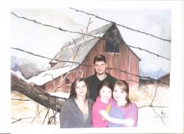 My grandchildren, Tyler, Emily, Katelyn and Leah