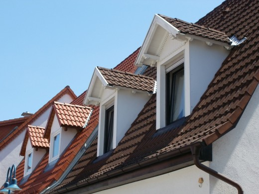 House roof.