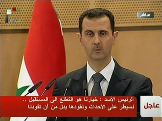 President Assad Putin's man in Syria.
