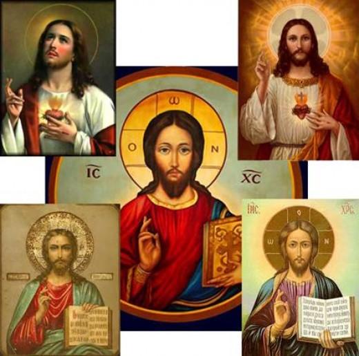 Jesus Hand Gesture In Paintings