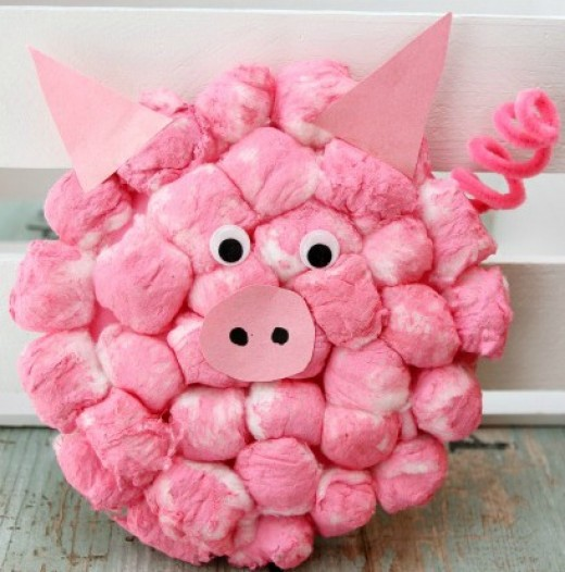30 cute cotton ball craft ideas hubpages