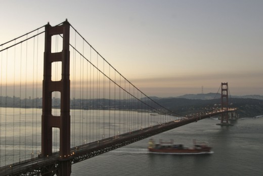 The magnificent Golden Gate Bridge