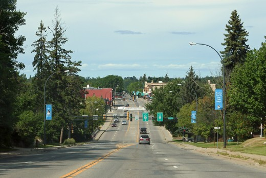 No longer Leland Avenue, now Pokegema Avenue, dubbed Power's Hill.