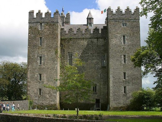 Bunratty Castle By Jon Sulivan Public Domain