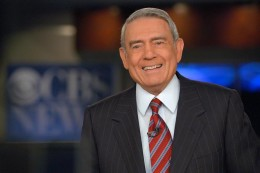 Former CBS News anchorman, Dan Rather, now retired