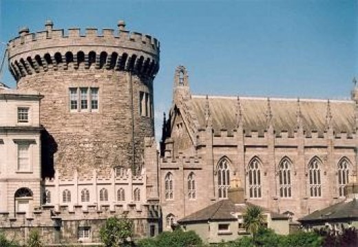 Dublin Castle By Unknown Public Domain