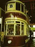 Old local tram