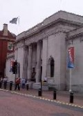 The outside of the Ferens