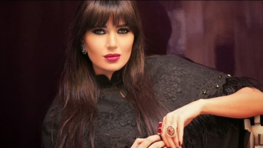 Lebanese singer, actress, and model Cyrine Abdelnour