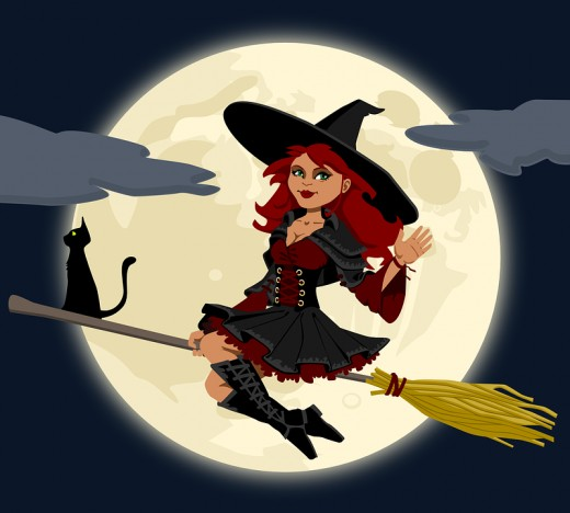 The legend that witches fly on broomsticks starts with hallucinogenic plants such as henbane. These substances were absorbed through the mucous membrane of the genitals using the handle of a broom; a convenient phallic symbol in every household.