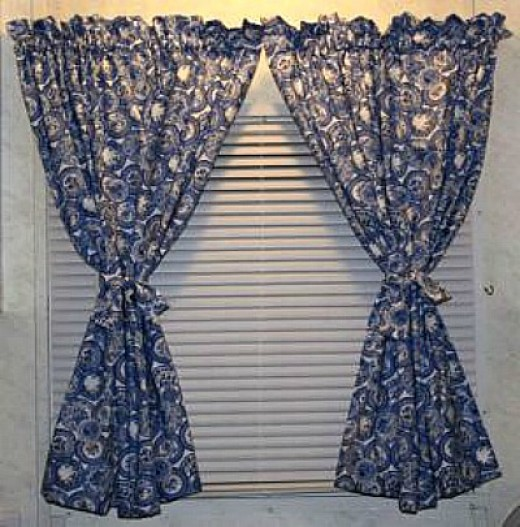 Sewing Kitchen Curtains: Free Curtain Patterns To Sew