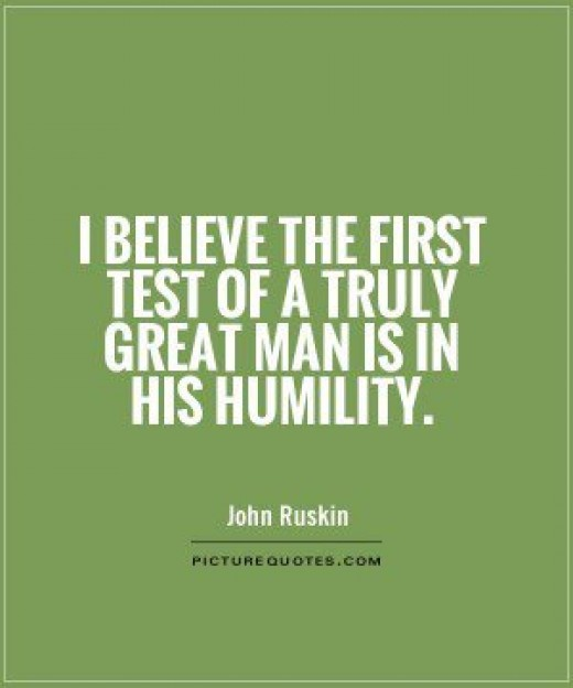 Another quote about humility.