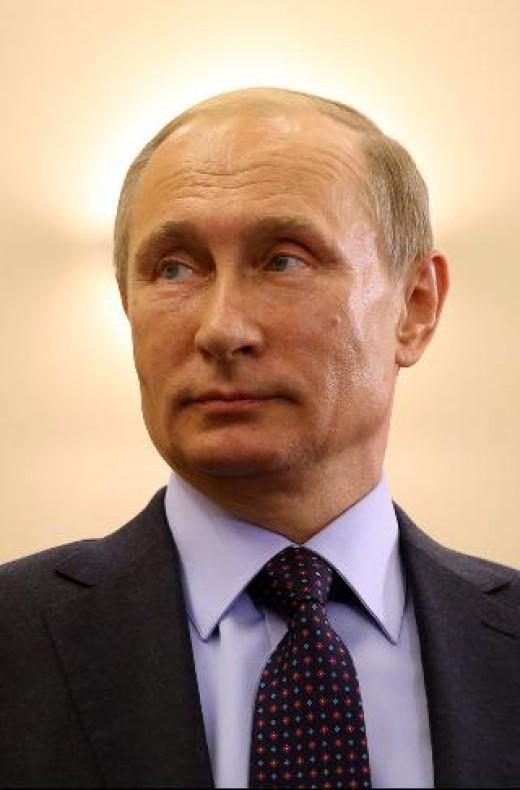 Vladimir Putin. I love him.