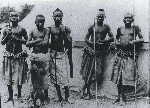 Mbuti Pygmy Tribe, Congo