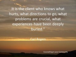 Carl Rogers Humanistic Theory of Counselling