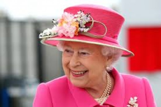 Queen Elizabeth II, looking as beautiful as ever.
