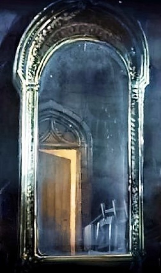 The Mirror of Erised from the first movie.