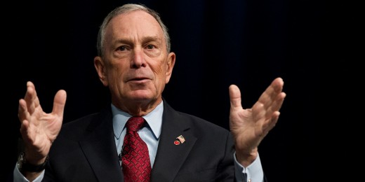 Bloomberg has been considered for Democratic, Republican and 3rd party runs as president, but he doesn't have the interest. He votes on principle and supported John McCain over Obama in 2008, but Obama over Romney in 2012.