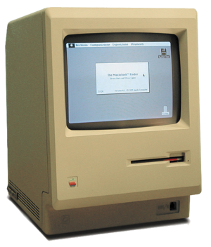 The Original Macintosh Computer, or the Macintosh 128K.