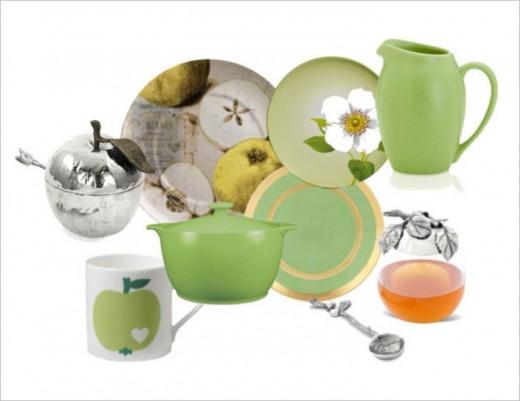 Lovely Apple Green Crockery