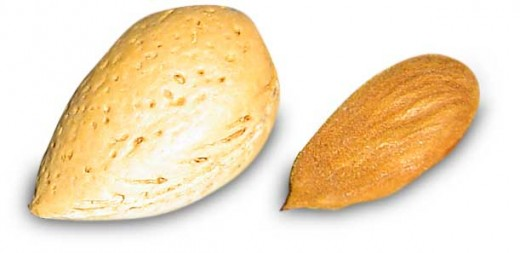 Mandel almonds