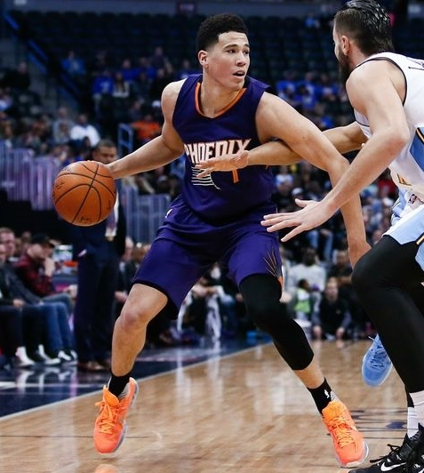 Devin Booker seems to have come a long way very quickly.
