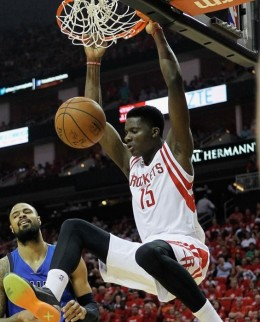 Clint Capela is about to emerge from what was at one point a very crowded frontcourt.