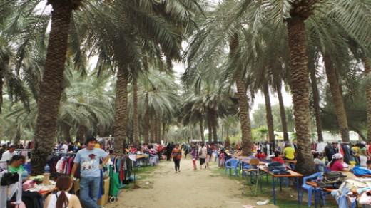 Dubai Flea Market Zabeel Park