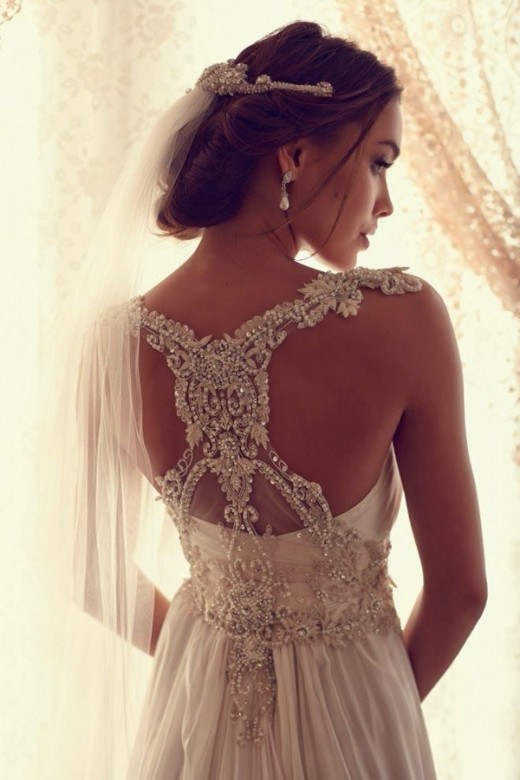 The right designer can create a beautiful wedding dress