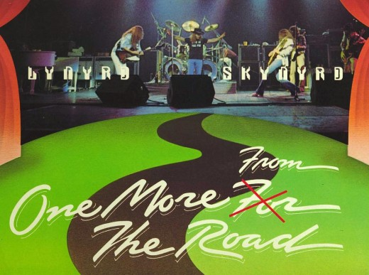 """One More From The Road,"" by Lynyrd Skynyrd, was responsible for my ""out-of-reality experience"" when I played the long version of ""Free Bird."" (R.I.P. Ronnie Van Vant and guys)."