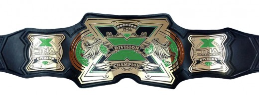 The Current X Division Championship Belt