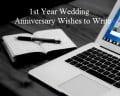 One-Year Wedding Anniversary Messages and Quotes