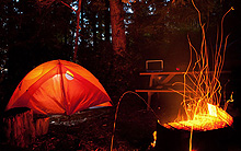 Tent camping $10 per night per person