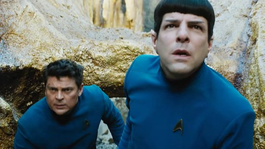 Kirk:  Bones, can you attend to Spock's wounds? Dr. McCoy:  Damn it Jim!  I'm a doctor damn it!  Not a.....oh sure.""