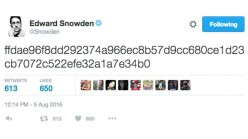 Edward Snowden Butt Twitter? Can you solve the puzzle?