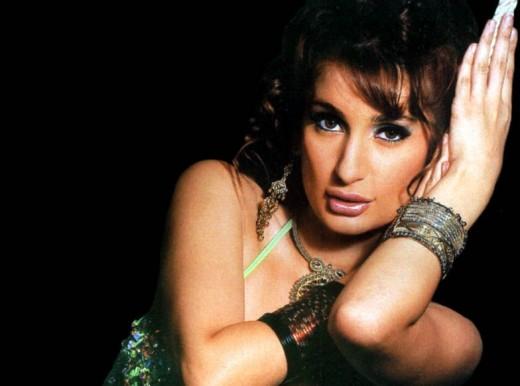 Iranian-born Norwegian actress, Negar Khan