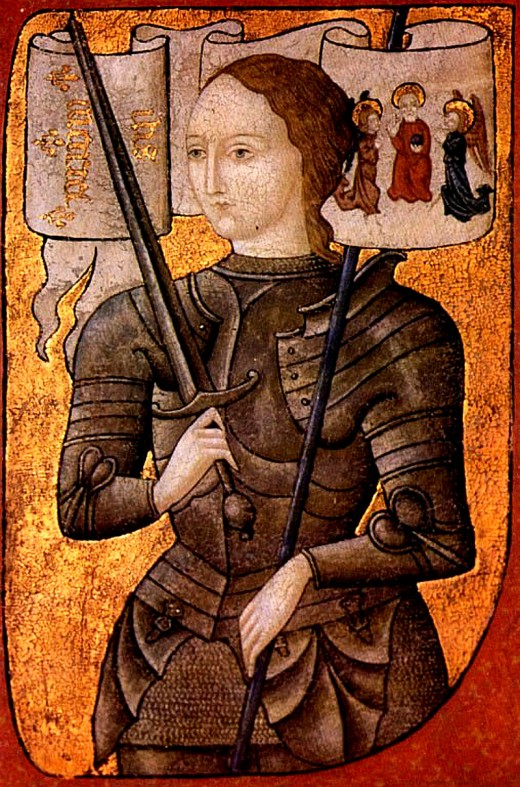 Joan of Arc was one of the star players in the Hundred Years War, which lasted 116 years.  116 hubs would be slightly more impressive than 100.  Joan was burnt at the stake as a reward for her service, I might add.  She never got her badge.