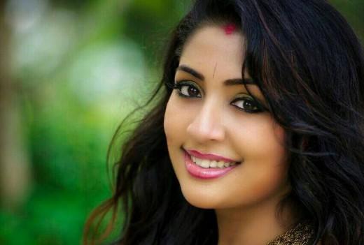 Indian actress Navya Nair