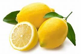 Plump unwaxed lemons